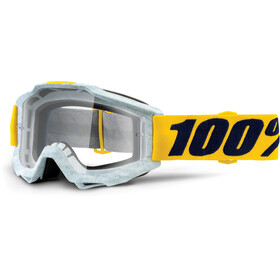 100% Accuri Anti Fog Clear Goggles grå